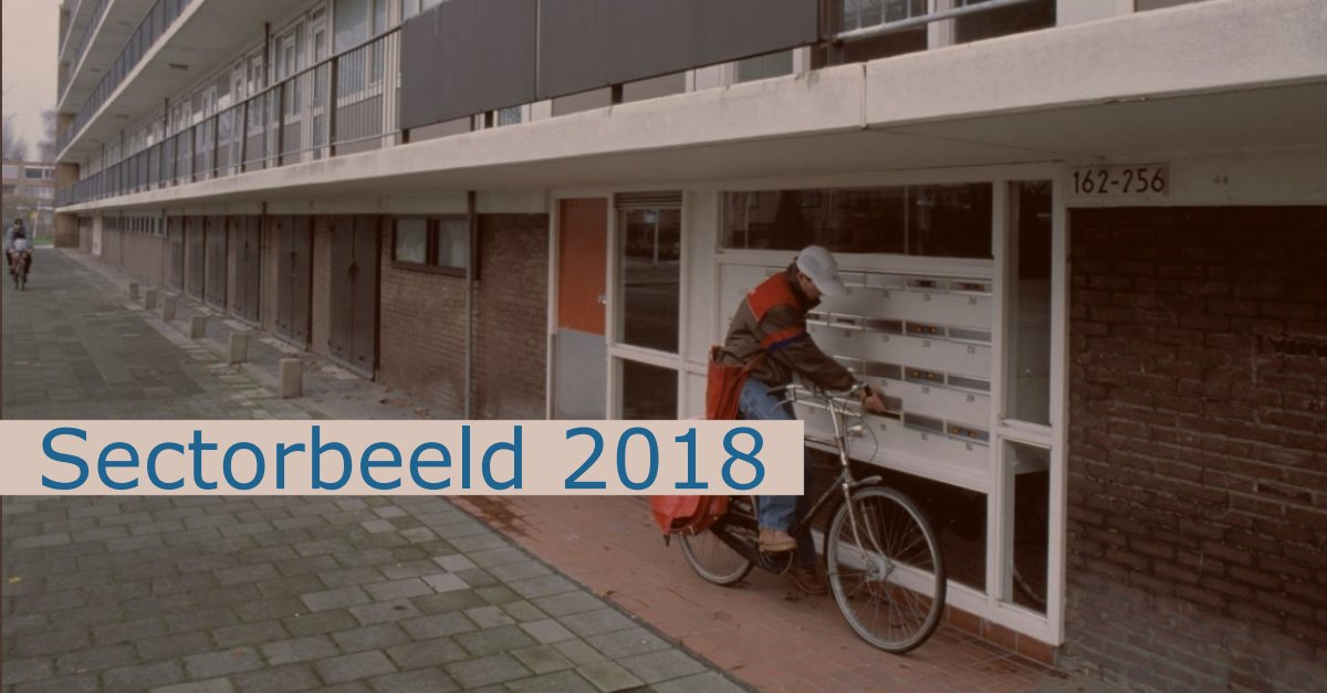 sectorbeeld 2018 woningcorporaties